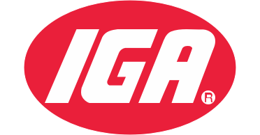 A theme footer logo of IGA Southeast