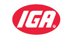 A theme logo of IGA Southeast